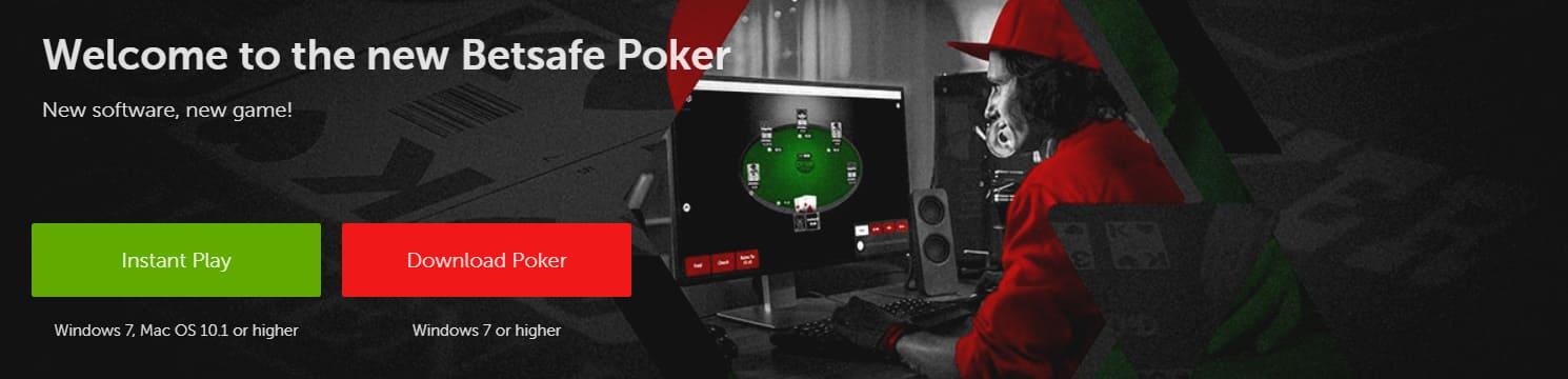 Betsafe Poker Download Options