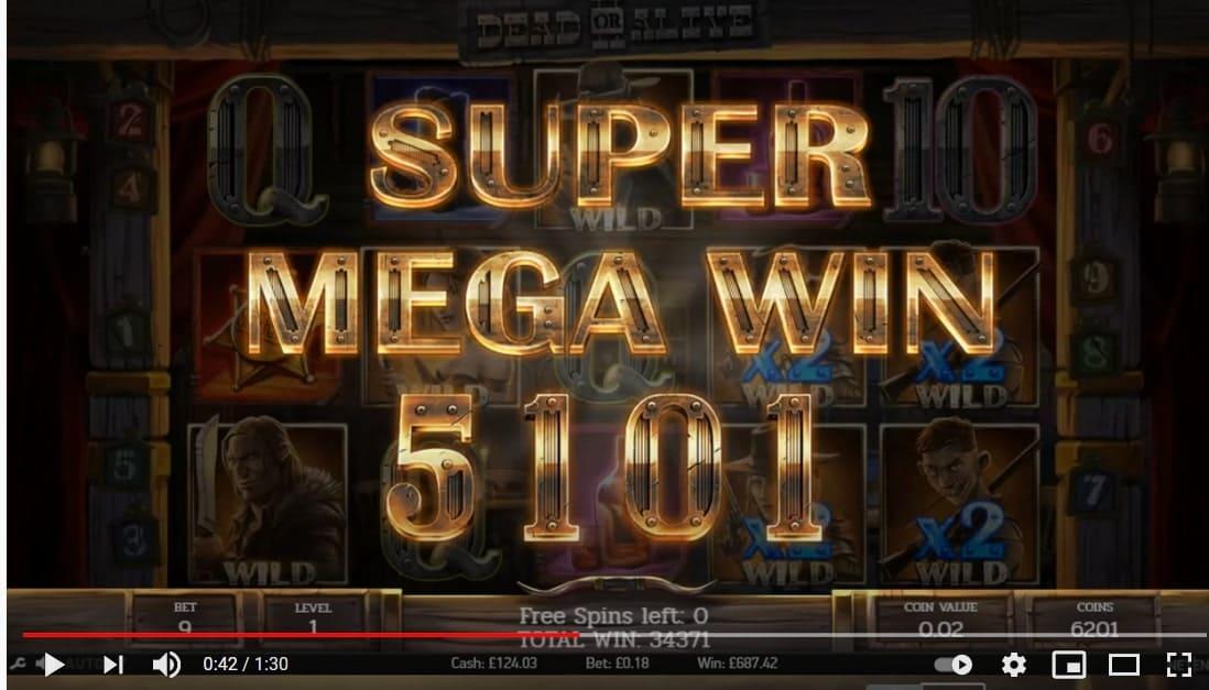 Dead or Alive 2 Big Win